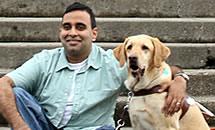 Foto da Guide Dogs for the Blind. Clique para acessar o site