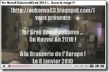 Boeuf de l' An Neuf... de 2010 !