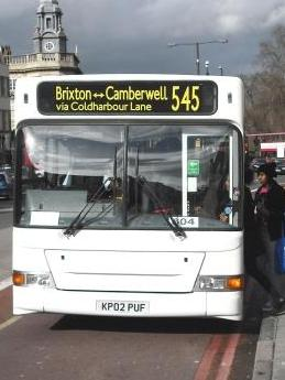 Photo of 545 bus in Camberwell