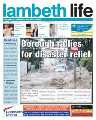 Lambeth Life cover
