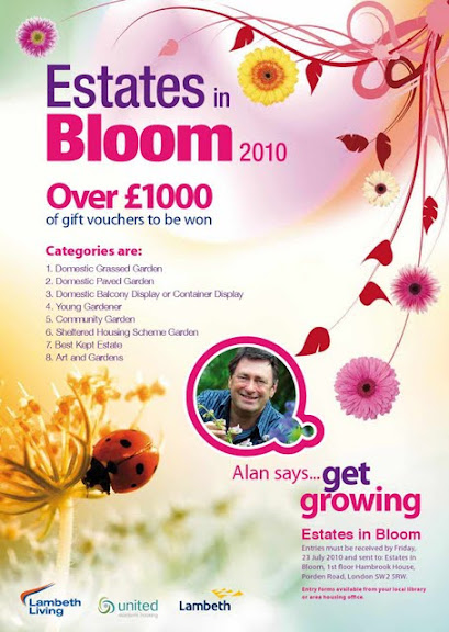 Lambeth estates in bloom poster