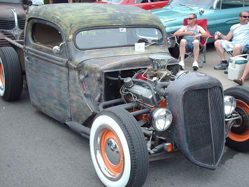 steampunk hot rod