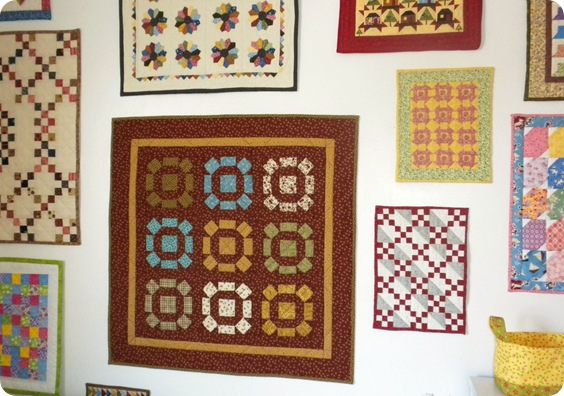 small quilt wall