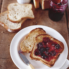 Blackberry-Bay Leaf Jam