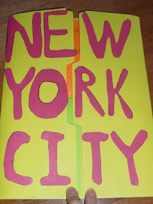 New York City Lapbook