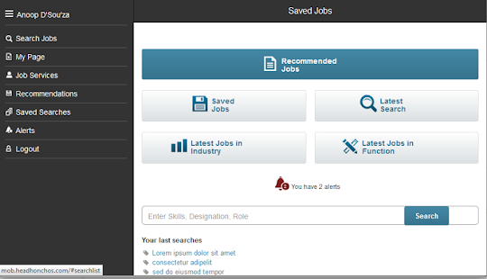 HeadHonchos - Job Search- screenshot thumbnail