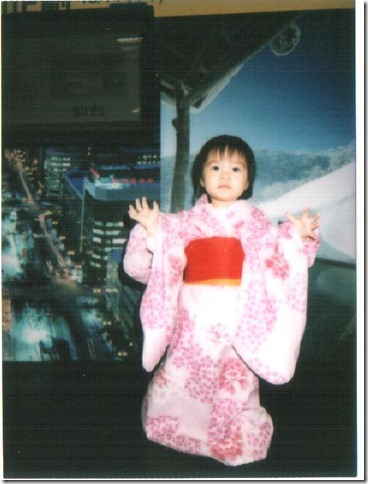 姿穎在高島屋北海道特展穿浴衣照相 001