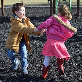 Ring Around The Rosie by Shannon Maltbie-Davis - Babies & Children Children Candids