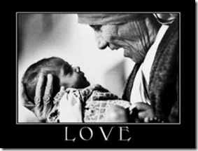 Mother Teresa loves