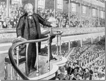 Spurgeon in pulpit