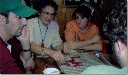 Nana and Scrabble