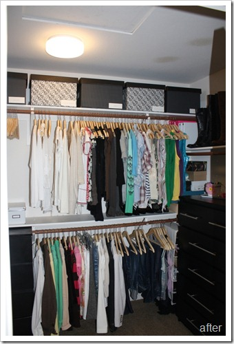Master Bedroom Closet Makeover A Thoughtful Place - Master bedroom closet organization ideas