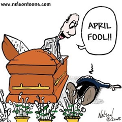 april fools casket