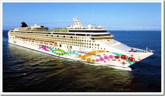 Norweigian Pearl Ship