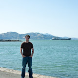 Me in front of the Golden Gate bridge!