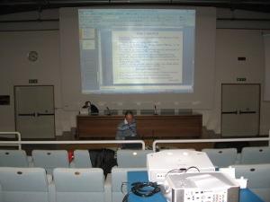 Francesco De Sabata: prove di presentazione a Comunicare Fisica