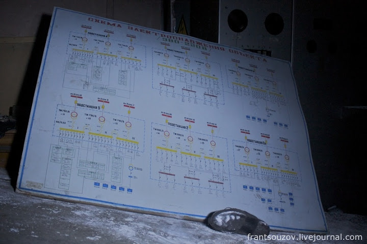 Схема электроснабжения объекта.