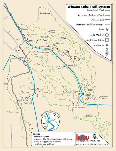 Trail Map | Winona Lake Trails