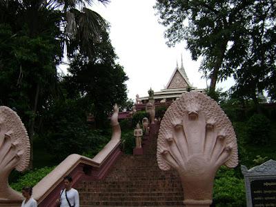 Wat Phnom Stair