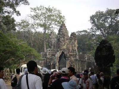 Gate to Angkor Thom