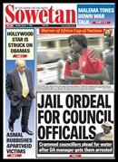 Sowetan front page Jail Ordeal for ANC councillors