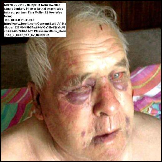 Jonker Stuart 81 beaten Nelspruit farm March252010 Is that what you want Malema