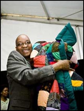 ZumaPatchworkBlanketGiftFromPoorAfrikanersJuly242008