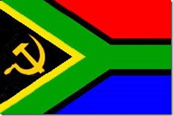 The Readl SA Flag Has HammerSickle...