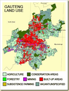 Gauteng_Population_10Million_DenseLandUseReliesOnVaalRiverWater