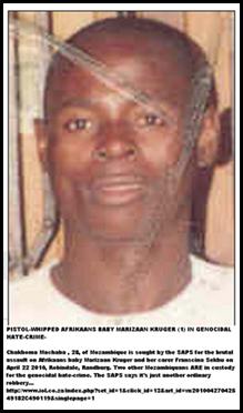 Matha chakhoma Moz 28 attacked Marizaan Kruger 1 RandburgApril2220