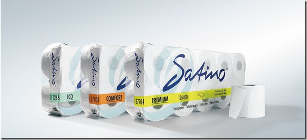 Worlds First Biodegradable toilet paper Satino VanHoutumCompany