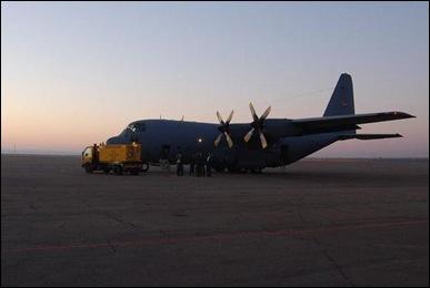SAAF LockheedC120B Hercules Flossie flies since 1959 Szabo pic