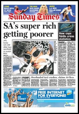 SundayTimes_SA taxpayers are getting poorer