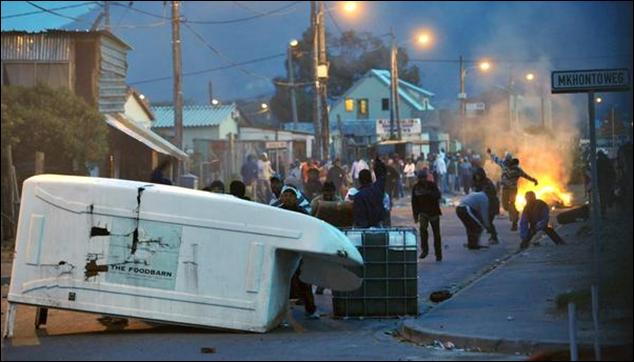 Image result for fish hoek riots