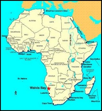 African Harbour Map