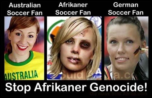 AfrikanerSoccerFanGenocide