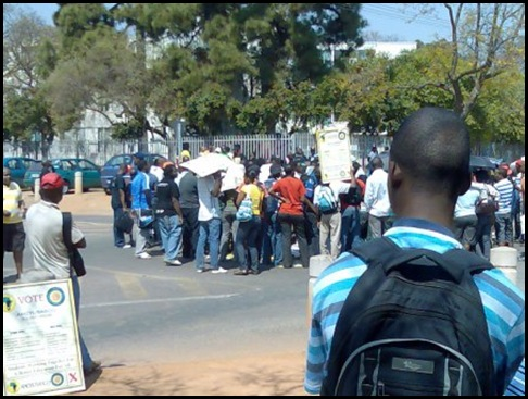 Black SASCO students disrupting SR election PtaU Sept82009