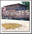 NoWhitesInOurPublicHousing sign in Port Elizabeth