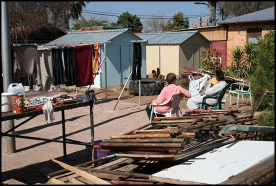 Afrikaner poor squatter camp Pretoria there are more than 70 such camps in Pretoria alone says Solidarity Helpende Hand