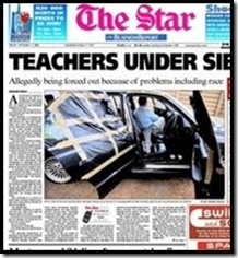 Ekurhuleni White Teachers under Siege The Star