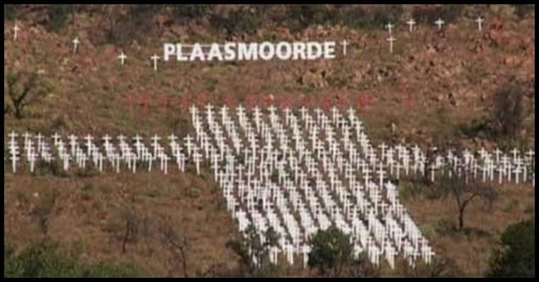FarmMurdersMonumentSouthAfricaPietersburgBBC Picture Farms of Fear