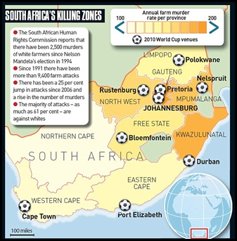 SA Killing Zones