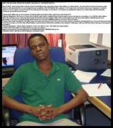 Sodo Nceba Safmarine employee PE wrote One Bullet One White Infant May302010 HisFacebook