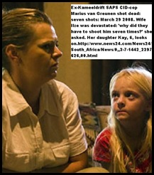 Greunen Ilze excop Marius murdered, 