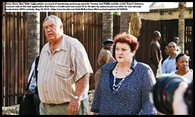 Roux Bees rugbyplayer parents Phillip Yvonne at court Cornel van Heerden murder