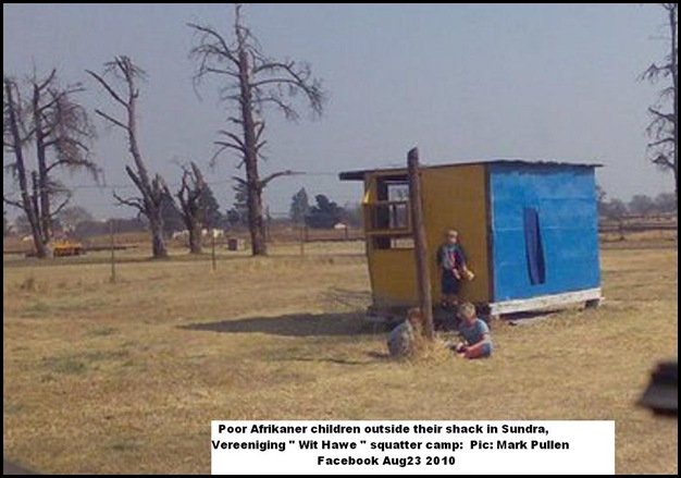 Poor Whites Sundra Vereeniging Pic Mark Pullen Wit Hawe facebook