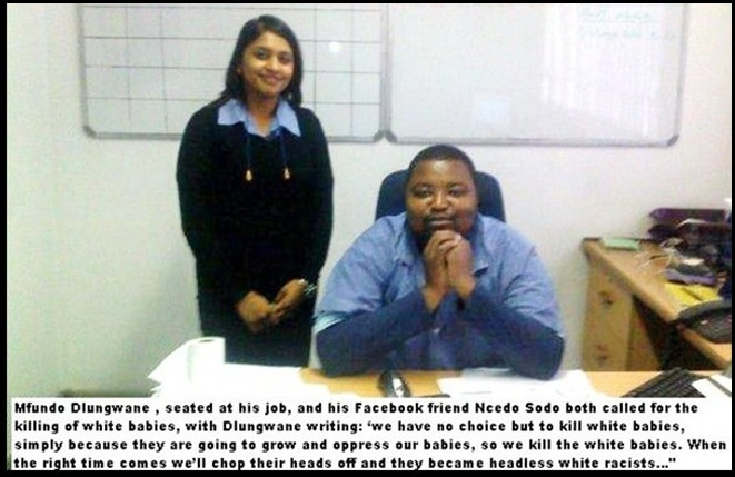 AntiAfrikanerHatespeechMFUNDO_DLUNGWANE MAY252010 KILL THE WHITE BABIES
