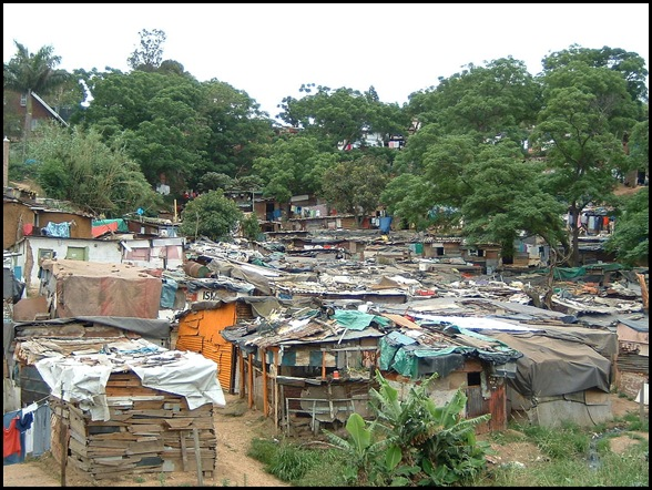 SQUATTER CAMPS IN SA_THERE WERE 260 IN 1994 AND 2900 BY 2010...