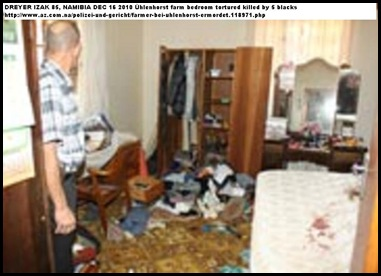 DREYER Izak 85 murdered Namibia farm Newlands Uhlenhorst