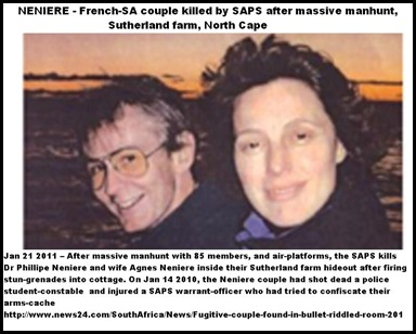 NENIERE COUPLE MANHUNT SUTHERLAND JAN182011
